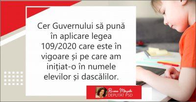 Roxana Mînzatu, deputat PSD Brașov: Guvernul liberal insistă să-și demonstreze incompetența în domeniul Educației Naționale!