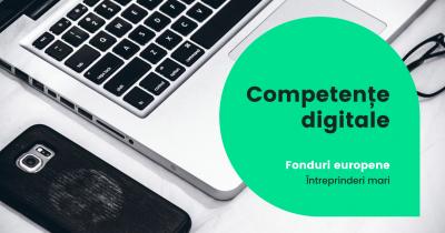 Până în 15 februarie 2021 se pot depune proiecte pentru competențe digitale în întreprinderile mari