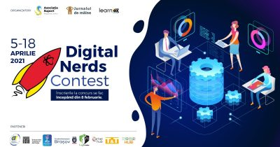 Digital Nerds - Concurs online de programare pentru copii și tineri!