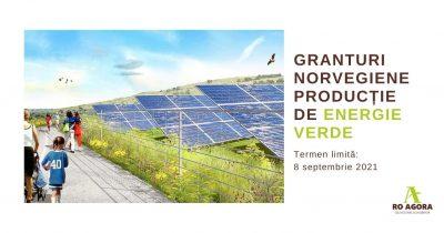 Granturi norvegiene pentru proiecte publice, private, nonprofit de producție energie verde