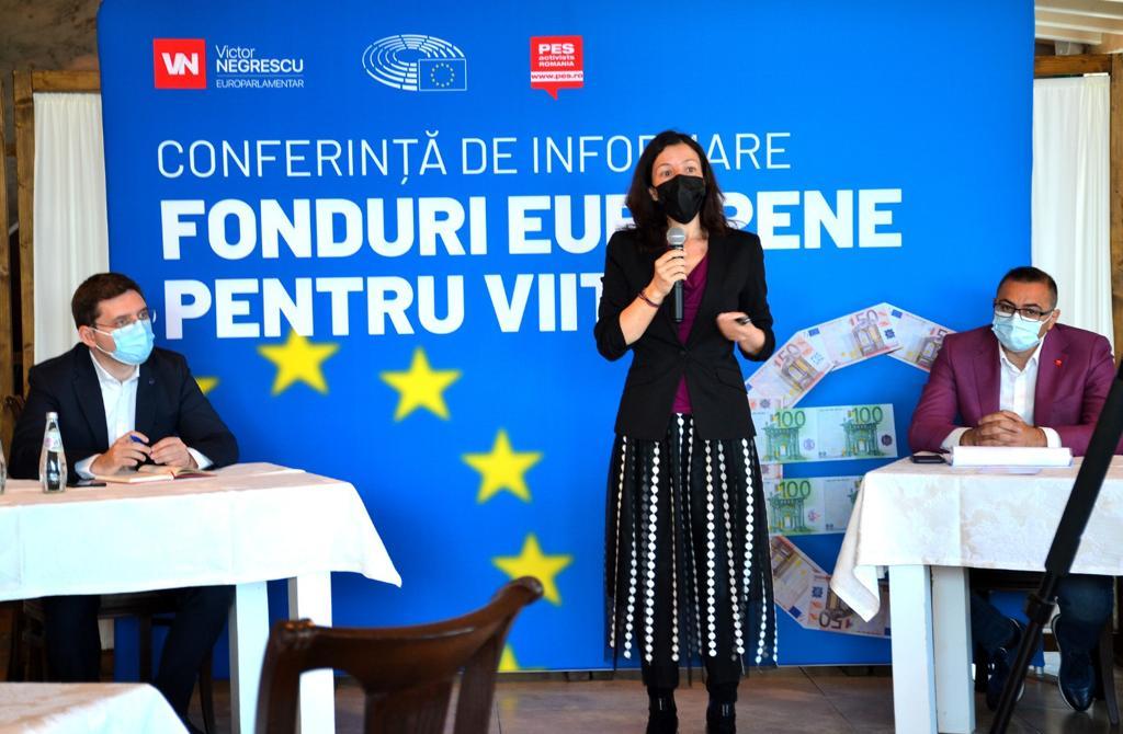 Prezentare oferită la conferința Fonduri Europene pentru Viitor