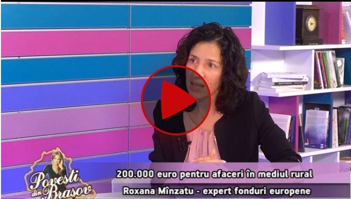 Povești din Brașov cu Roxana Mînzatu la NovaTV