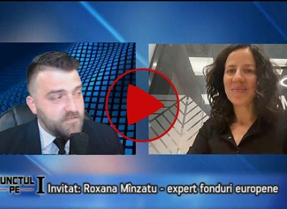 Emisiunea Punctul pe I cu Roxana Mînzatu, la NovaTV